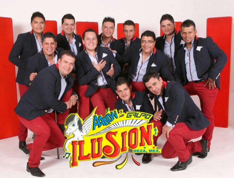 Aaron y su grupo Ilusion Contrataciones en Starmedios.com