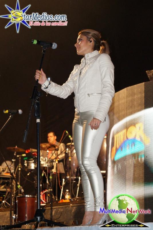 Berenice en el escenario de Junior Klan